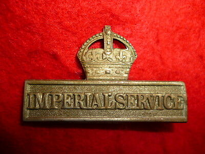 WW1 Imperial Service Badge - Territorials