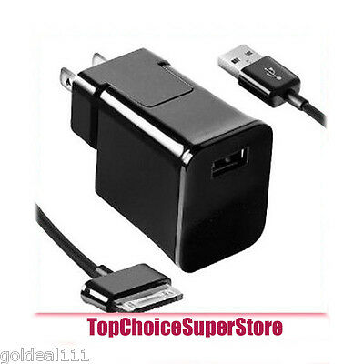 """Travel/Home USB Wall Charger +Cable For Samsung Galaxy 7/8.9/10.1"""" Tab 2 Tablet*"""