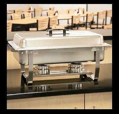 Chafing Dish Food Pan Tray Warmer Stainless Steel Catering Buffet Server -Party
