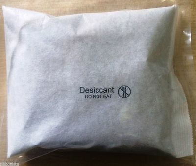 10 x 100g Silica Gel Sachets Desiccant Sachet Pouches Dryer - UK MANUFACTURER