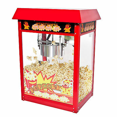 Goplus 8oz Deluxe Popcorn Popper Maker Machine Red Table Top Tabletop Theater