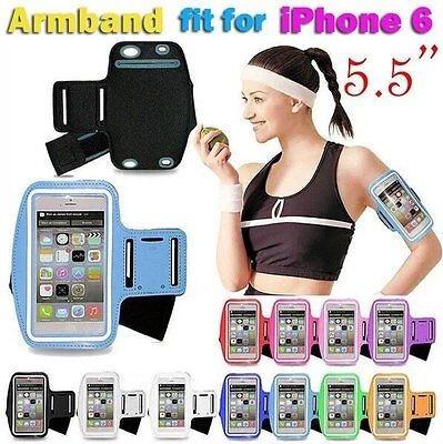 Sport WaterResistant Armband, Running Case Cover Pouch For iPhone 6Plus 5.5''