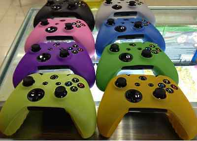 Colourful Silicone Protection Cover Case Skin fo XBOX One Video Game Controller