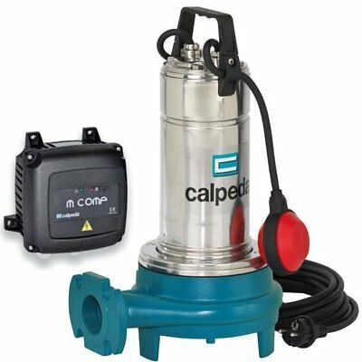 Submersible Grinder Pump GQGM Waste Water CALPEDA GQG6-18m 0,9kW 1,2Hp 230V 50H
