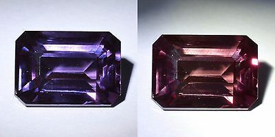 18.45 Ct 17.2x12.3 MM Purple Color Change Sapphire Stone Lab Created PC6290