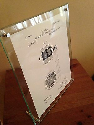 """Tesla Patents Vol. 2 - 5 Cleaned and Sharpened Patents on 81/2""""x11"""" Cotton Paper"""