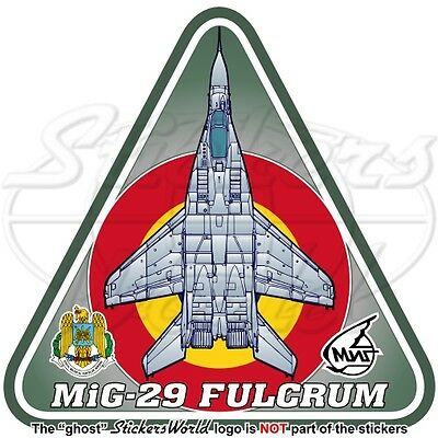 MIG-29 FULCRUM ROMANIA Mikoyan-Gurevich MiG-29A Romanian AirForce Decal Sticker