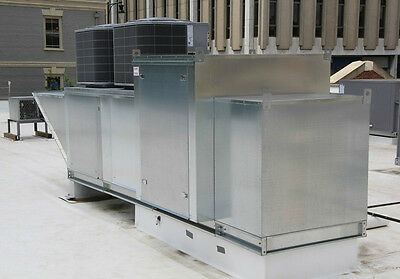 Make Up Air Unit with Modular Package Heat & A/C Cooling