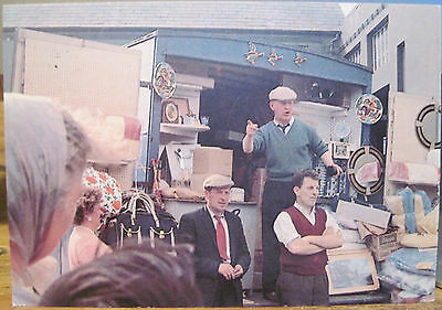 Irish Postcard OPEN AIR MARKET Flea Auction Downes Hinde Ireland People & Places