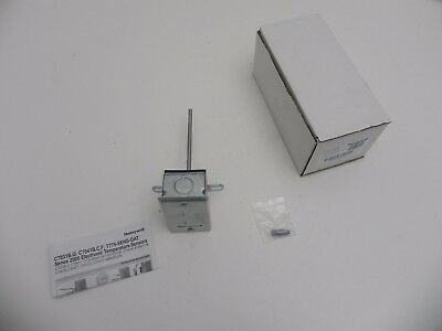 "New Honeywell 6"" in Duct Remote Temperature Sensor C7041B2005 Range -40 to 250F"