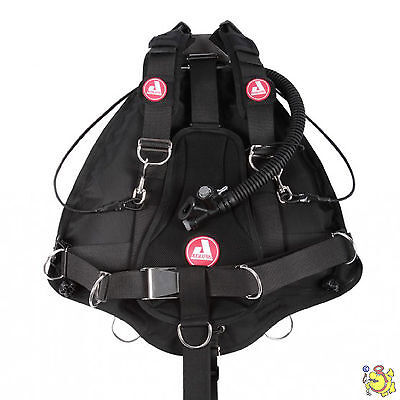 UK BCD AUDAXPRO side mount POINT BREAK FREE WATERS