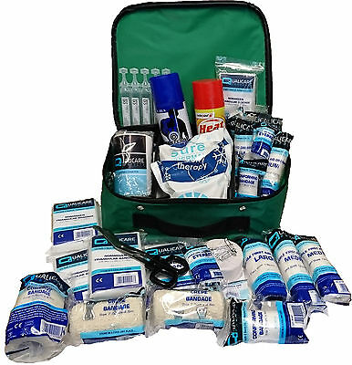 Qualicare Sports First Aid Kit-Outdoor Elite,Emergency,Premium Includes-108Items