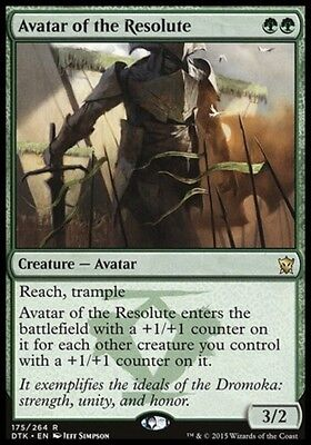 AVATAR DEI RISOLUTI - AVATAR OF THE RESOLUTE Magic DTK Mint