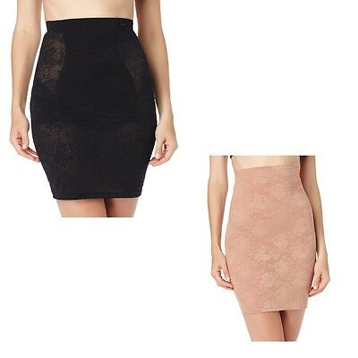 Ultimate Shaping Pencil Skirt Slip with Magic Tech wear Size 10 Uk 38 Eur Black