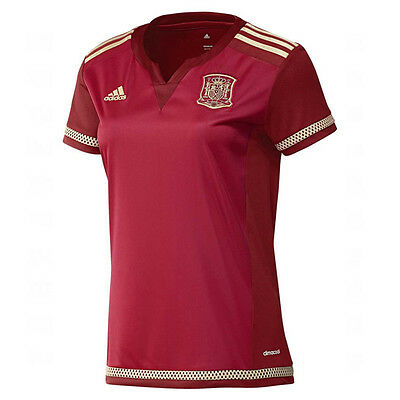 adidas Women's Spain 15/16 Home Jersey Red M39399