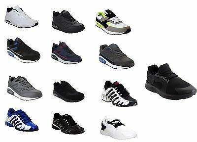 New Boys Kids Air Bubble Sports Gym Running Football Youth Trainers Shoes Uk13-6