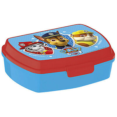 Nickelodeon Paw Patrol - Sandwich Box - Back to School Red/Blue