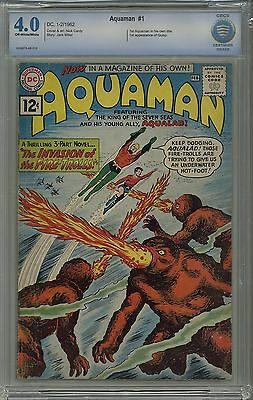 AQUAMAN #1 CBCS 4.0 OW/WHITE PGS Not CGC FREE-SHIPPING