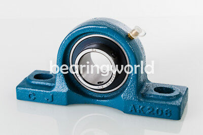 "NEW SBLP206-20G  High Quality 1-1//4/"" Set Screw Bearing with Pillow Block"