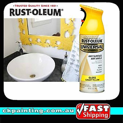 Rustoleum Universal All Purpose Spray Paint/gloss Canary Yellow