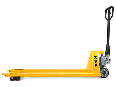 Brand New SL 2.5T Heavy Duty Super Long  1800mm Tines Hand Pallet Jack/Truck
