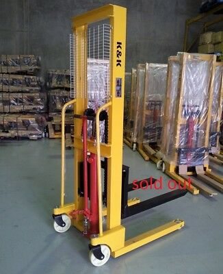HS 1.0T Hand Pallet Walkie Stacker/Jack/Truck/Hydraulic Lifter(1.6M Lift Height)