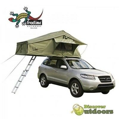 New Freetime Rooftop Tent - Ripstop Ladder Camping Hunting 4WD $40 DELIVERY SYD