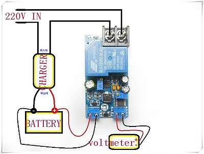 12V intelligent battery charger power battery automatic charge& blackout control