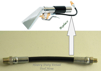 Carpet Cleaning - Detail Tool Short Hose 7""