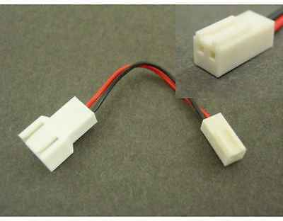 3Pin to 2-Pin Fan Cable Adapte/ Converter Cable CB-YA-C2P