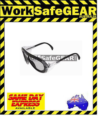 (Pack of 2) Vision Safe Industrial/Working Special Purpose Safety Mesh Glasses