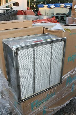 "New Flanders 23.375"" X 23.375"" X 11.5"" Nuclear Grade Filter Hepa"
