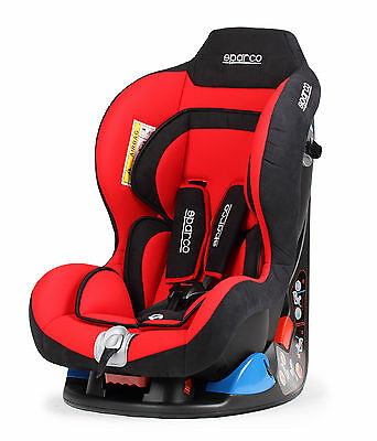 Sparco Child Seat F5000 K RED 0-18 kg ECE Homologation Safety Baby Tuning Auto