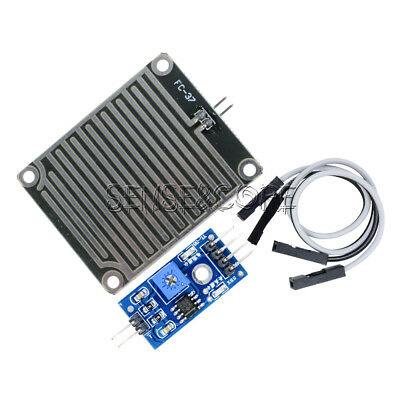 Rain Weather Module Raindrops Detection Sensor Moduel Humidity For Arduino