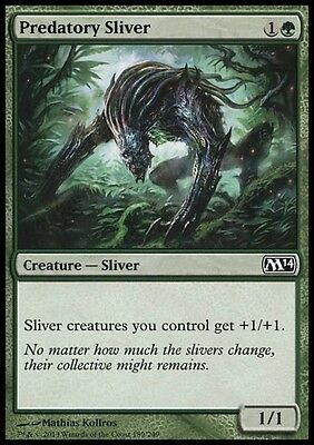 TRAMUTANTE PREDATORE - PREDATORY SLIVER Magic M14 Mint