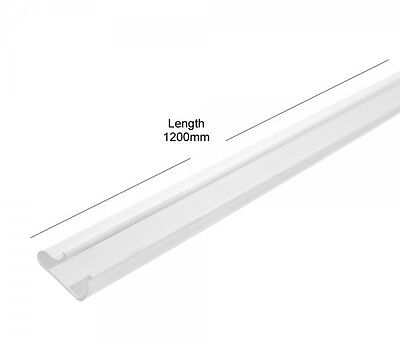 50 Pack of White Slat Wall Board Inserts - Plastic Clip or Slide In