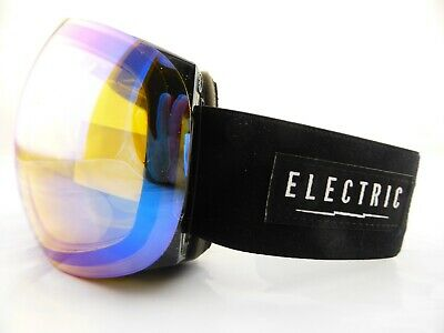 Electric EG3 Snow Goggles Gloss Black - Yellow/Blue Chrome + Bonus Lens