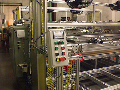 "SIBE AUTOMATION VACUUM FORMING MACHINE 60"" x 84"" TWO STATION DUAL HEAT PLATEN"