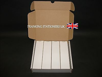 1000 x Pitney Bowes single adhesive franking labels (44 x 165mm)