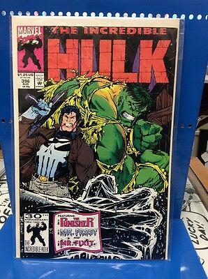 The Incredible Hulk #396 Marvel Comics 1992 Bagged And Boarded