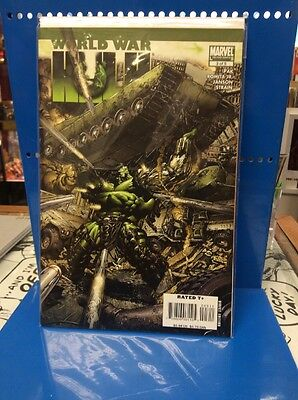 World War Hulk #3 Of 5 Marvel Comics 2007 Bagged And Boarded