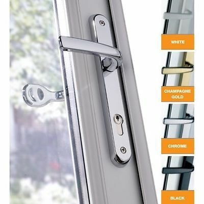Avocet Affinity Premium Offset Lever / Pad Upvc Door Handles 92/62 - All Colours