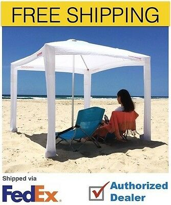 Cool Cabanas- Crisp WhIte with Cotton Poly Canvas Fabric,50+ UV protection