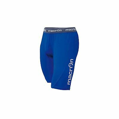 MACRON QUINCE BLUE BASELAYER SHORTS - Various Sizes Available
