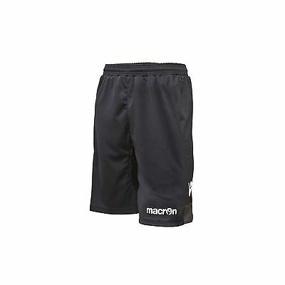 Macron Altair Goalkeeper Shorts - Black - Various Sizes Available