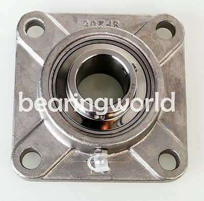 SAPFT206-30MM High Quality 30mm Eccentric Pressed Steel 3-Bolt Flange Bearing