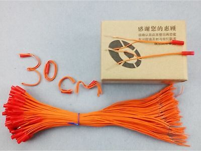 E-match 110pcs/lot 11.81in For Fireworks Firing System Electric Igniters display