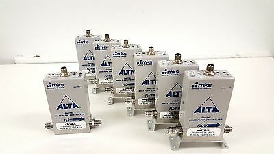 MKS ALTA 1480A Mass Flow Controllers  Gas: H2 Flow Rates: 1000, 5000, 10000