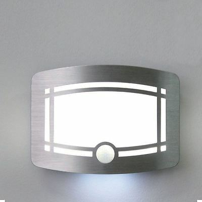 New & Boxed Battery Motion Activated Wireless 10 Led Wall Light Indoor Outdoor