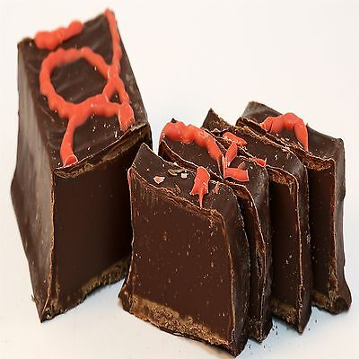Dark Chocolate coated Chocolate Chilli Fudge